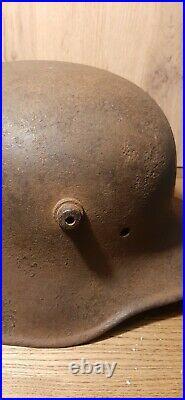 WWI WW2 German steel Helmet M18. Reichswehr, very rare RRR