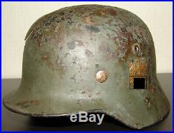 WW 2 german helmet, original WH helmet, ss helmet