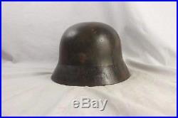 World War 2 German M1935 Camouflage Helmet