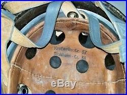 World War 2 WWII German Original M38, CKL68 Fallschirmjager Paratrooper Helmet
