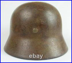 World war 2 German M40 Helmet with Normandy Camouflage Paint Single Decal