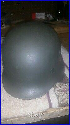Ww2 German 60 Cm M35 Helmet W Liner