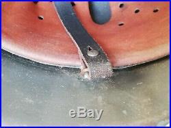 Ww2 German Helmet Casque Allemand M42 Complet Sans Insigne Date 1942
