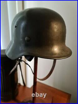 Ww2 German Helmet Heer Single Decal M40 Ef62 Original Superb Condition