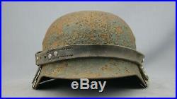 Ww2 German Helmet Leather Carrier, Nice, Original, Rare