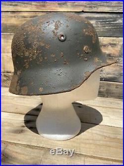 Ww2 German Helmet M40 Heer Sd