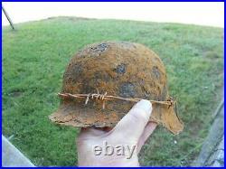 Ww2 German Helmet, M42. Size 66. (ww2 German Collectible)