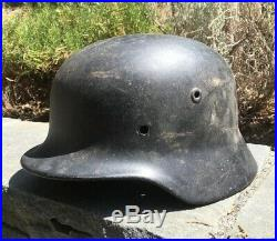 Ww2 German M40 Helmet Shell Quist Size 68