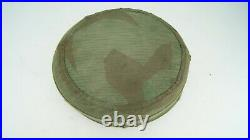Ww2 German Paratrooper Helmet Camo Cover, Rare One, Fully Complete