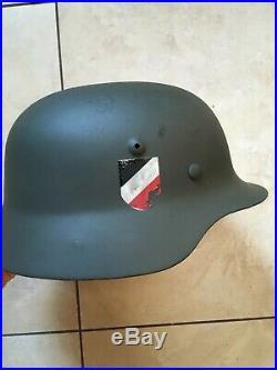 Ww2 German Reenacting Uniform M40 M36 Helmet