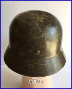 Ww2 German Type M40/55 Contract Finnish Helmet
