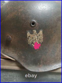 Ww2 German Wehrmacht Original helmet 1942 wk2 2ww