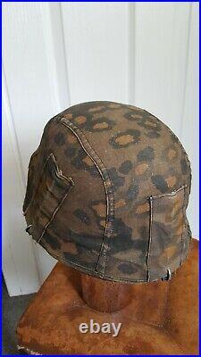 Ww2 German camouflaged helmet cover
