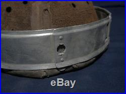 Ww2 German helmet liner. Aluminum, size 66/59. 1938 year. Complete