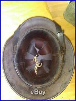 Ww2 German m40 helmet 100 percent original and nice patina