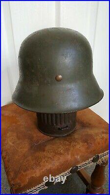 Ww2 German m42 raw edge helmet shell