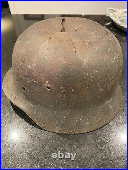 Ww2 Original German M35 Elite Helmet