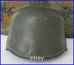 Ww2 Original German M35 Erel Vulkanfiber Officers Parade Helmet Ultra Rare