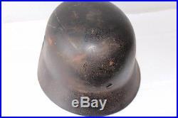 Ww2 Original M40 German Helmet marked wwII