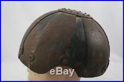 Ww2 Rare German M. E. 262 Fighter Pilot Helmet Shell