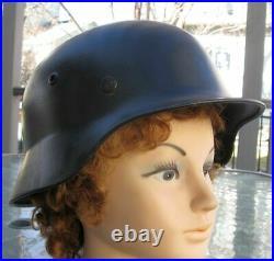 Ww2 World War 2 Original German M40 Heer Wehrmacht Helmet With Liner M1940 1940