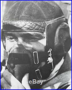 Ww2 Wwii German Air Force Luftwaffe Pilot Summer Flight Helmet Netzkopfhaube Rar