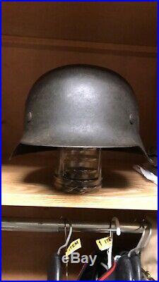 Ww2 german helmet original HEER/Kriegsmarine Withdecal