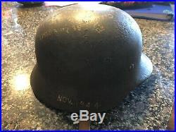 Ww2 german helmet with heer insignia