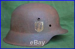 Ww2 german m42 waffen ss helmet