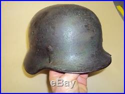 Ww2 helmet elmetto german wermacht original m35 camouflage mimetico rare