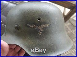 Ww2 ww11 camo German helmet