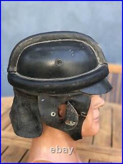 Ww2 wwii original german Crash Helmet Pre 1945 Brownshirt