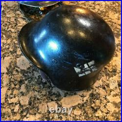 Ww2 wwii original german m35 helmet Stahlhelm